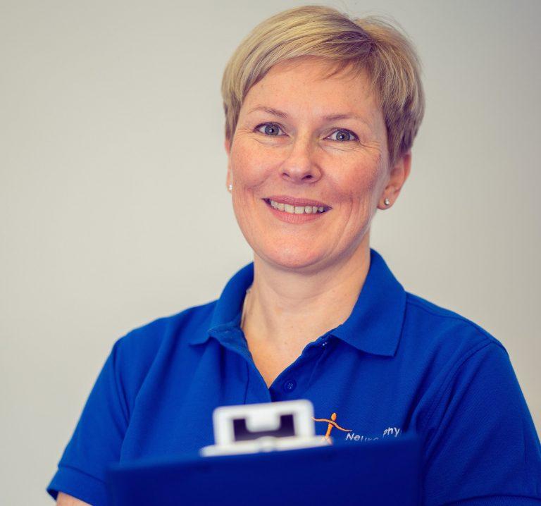 neurological physiotherapist Sara Davis