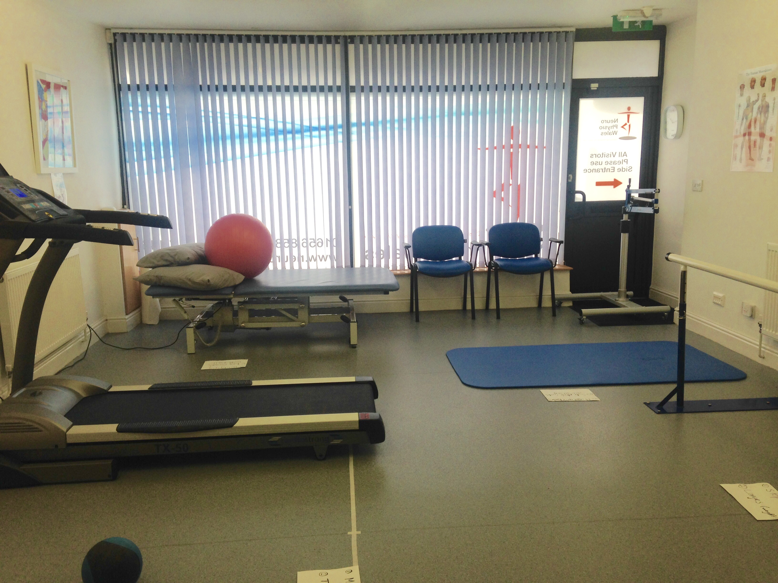 Brain Injury Circuit Class Set Up