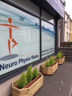 Neuro physiotherapy Kenfig Hill shop front